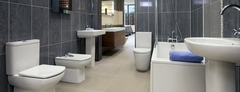Roca bathroom suite